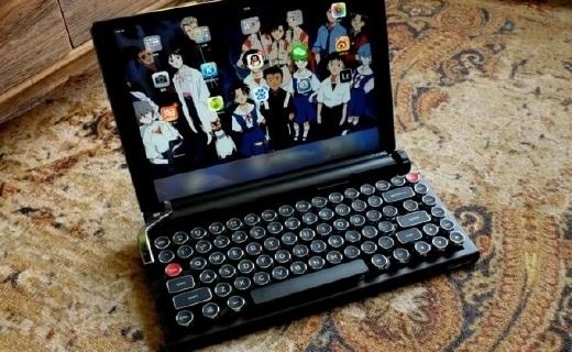 来自复古键盘的诱惑,属于现代的打字机