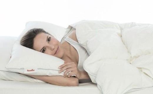 Paradies白鹅绒羽绒被:高支高密纯棉面料,轻暖舒适睡眠