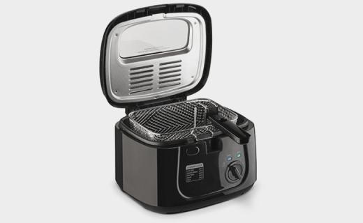 Toastmaster油炸鍋:三檔溫度可調,透視視窗頂蓋方便查看