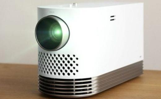 LG激光投影仪1080P画质,手掌大小轻松携带