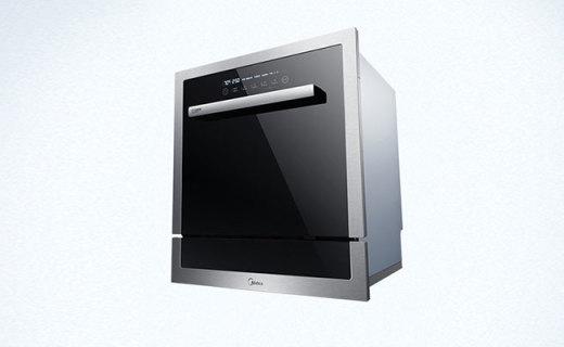 美的W3908T洗碗机:智能感应油污,大容量可容纳8套餐具