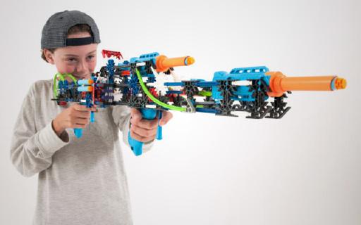 K'NEX科乐思搭建积木,学与玩合二为一