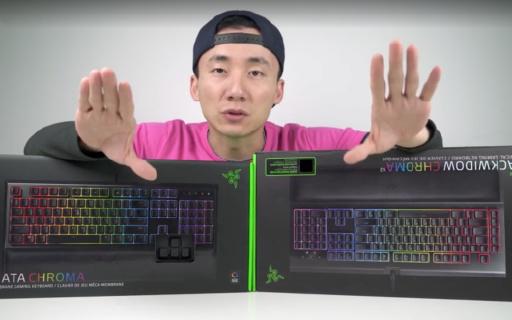 雷蛇鍵盤怎么買?入門級與高端級對比體驗   視頻
