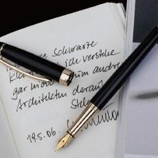 ipluso Mars系列 黑金钢笔礼盒