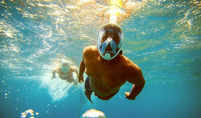 H2O Ninja Mask 浮潛面具 首發試用