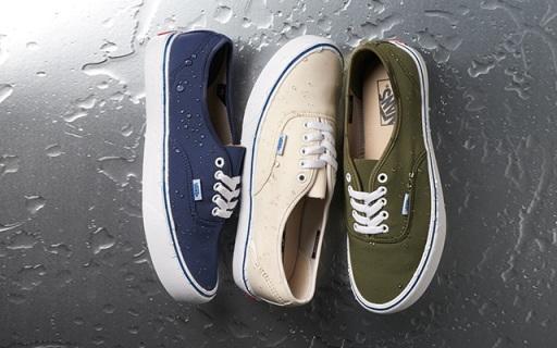 瑞士科技面料加持Vans鞋,防水防污告別苦逼洗鞋