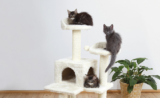 Trixie寵物貓爬架:天然劍麻制造,材質結實又安全