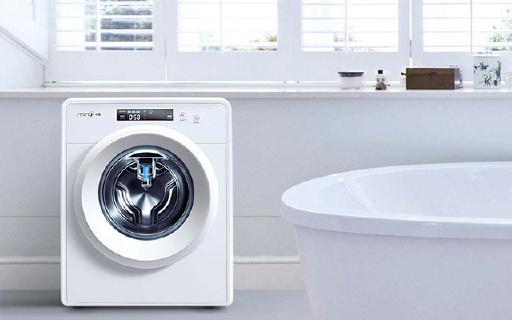 小吉智能迷你滾筒洗衣機,高溫煮洗超靜音
