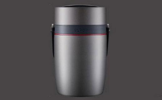 苏泊尔KF20G1保温提锅:六层工艺坚固耐用,真空层保温更持久