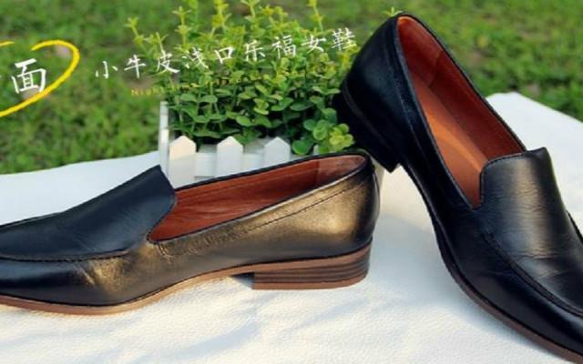 魅力与实力并存,七面小牛皮浅口乐福女鞋上脚体验