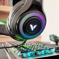 好听更好看:雷柏VH520虚拟7.1游戏耳机开箱