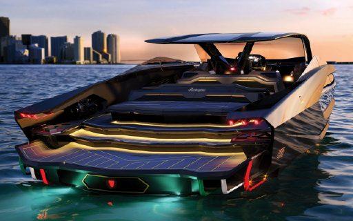 蘭博基尼造了個比跑車更猛的新玩意!4000匹馬力+水上超跑,造型亮瞎雙眼......
