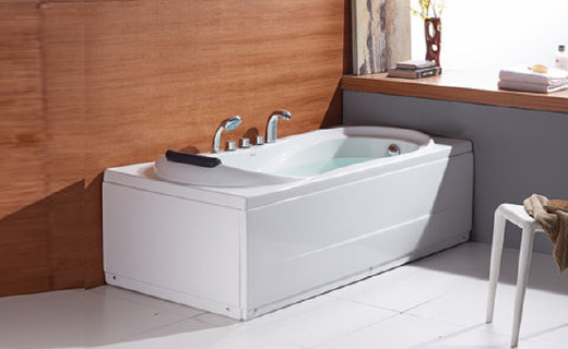 法恩莎F1501SQ浴缸:优质亚克力制作保温节能,光滑?#25913;?#22909;用舒适