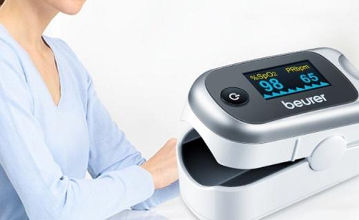 博雅PO40血氧儀:輕輕一按了解身體狀況,火柴盒大小方便攜帶