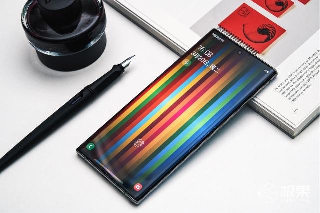三星Note10+圖賞!頂級屏幕配上硬朗風格,美出新高度