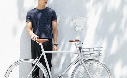 WKUP亮銀自行車:鋁合金車身輕便好看,專從國人習慣設計
