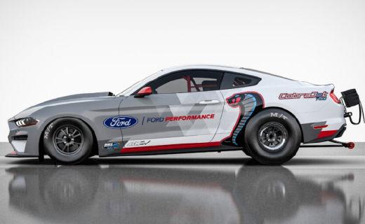 1400馬力大功率!福特推出電動野馬賽車Cobra Jet