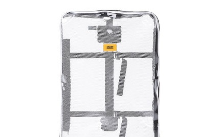 Crash Baggage分享系列透明行旅箱