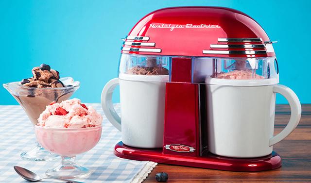 Nostalgia Electrics 冰淇淋機 首發試用