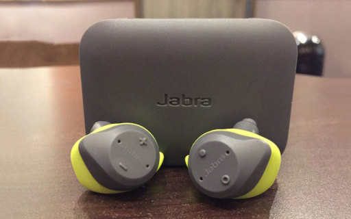 耳朵上的私人健身教练 Jabra Elite Sport捷波?#25910;?#36291;耳机