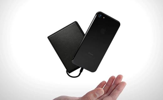 晒晒太阳就能给手机充电的钱包,随时充电防盗刷