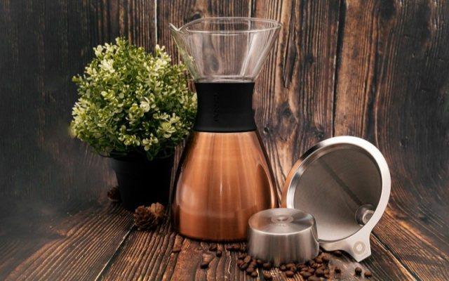 爱斯堡 热冲咖啡壶