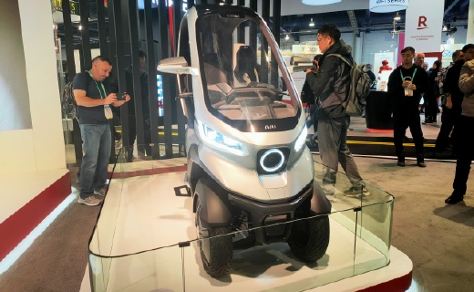 「CES 2020」L2级自动驾驶!小牛发布首款电动三轮摩托车,还有街头拉风神器