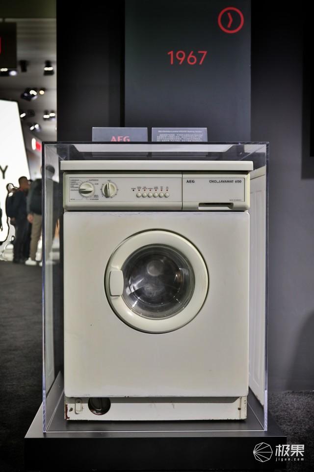 """穿越27年""""时光""""的洗衣机惊艳AWE2019:AEG演绎匠心品质"""