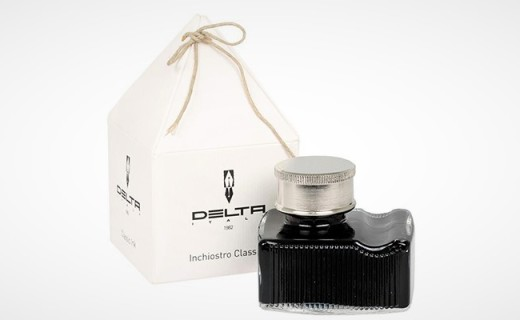 DELTA瓶装墨水:意大利原产,书写顺畅色泽饱满