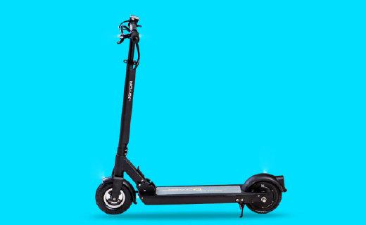 九悦R1滑板车?#22909;?#20320;可折叠携带方便,高性能锂电池持久续航