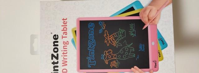TintZone繪特美T2兒童彩色液晶手寫板試用