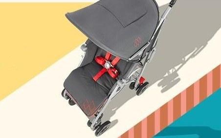 瑪格羅蘭嬰兒車:透氣座椅方便輕巧,避震功能平穩舒適