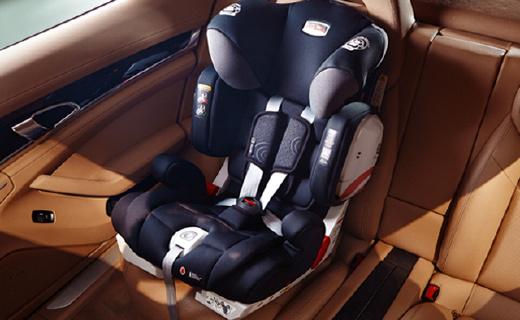 三重接口保護,這款安全座椅讓家長更省心!