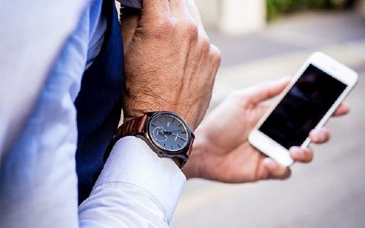 天美時新款智能手表,外觀超美還能續航一年