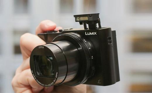 松下DMC-LX10相機:4K拍攝支持五軸防抖,F1.4大光圈全能卡片