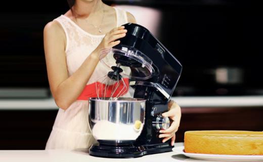 北美电器厨师机:6档可调强劲动力,仿手工和面更美味