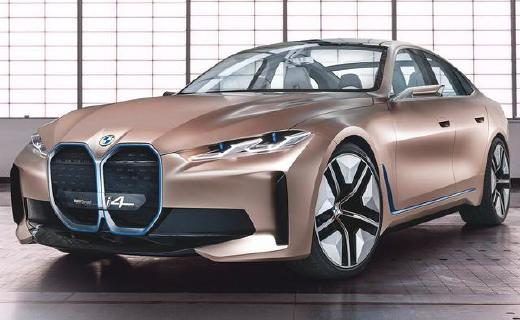 寶馬發布首款純電動轎跑概念車,量產版將于2021年正式上市