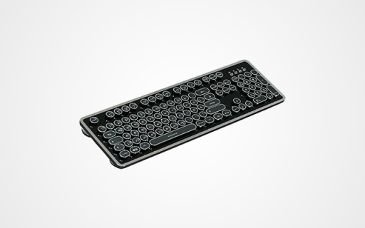 這款復古機械鍵盤,給你打字機般的碼字快感
