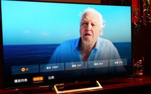 4K高清大屏,这电视让大人和孩子抢着看 — 索尼液晶平板电视体验