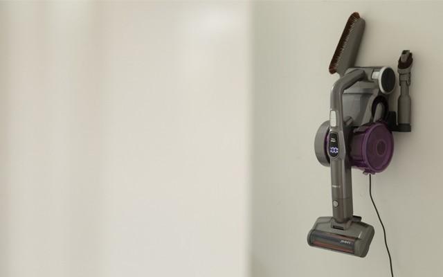 輕松順手的上手把吸塵器:犄角旮旯全能吸,毛發、污漬全搞定!