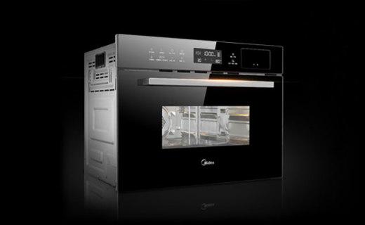 美的TQN34FBJ蒸汽烤箱:蒸烤二合一营养不流失,34升大容量