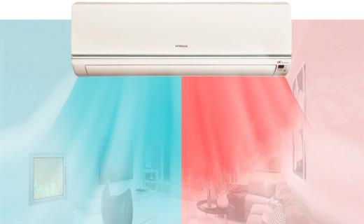 日立RAS/C-12KVNY空調:稀土變頻高效省電,除濕除塵更舒適