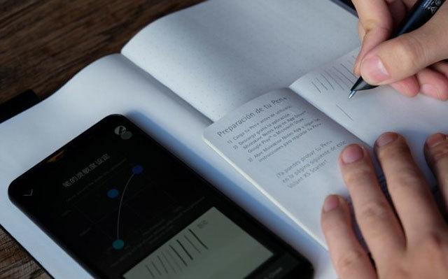 Moleskine Pen+Ellipse智能書寫套裝,設計師的得力助手