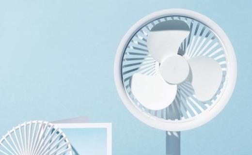 「新東西」紫米上線隨身手持風扇:3擋可調風,續航12小時