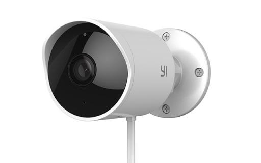 小蚁发布室外智能摄像头,防水防尘带有警铃