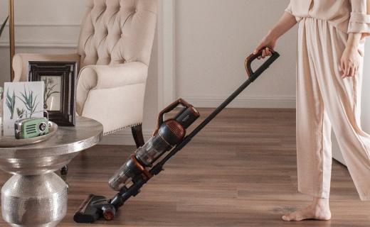 治愈清潔強迫癥的吸塵器:上天入地大口吸,隨立隨停搞定復雜環境!