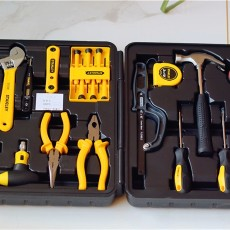 家庭必備維修工具,史丹利Stanley45件套家用工具箱套裝