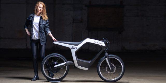 极简主义设计,novus发布新款电动摩托