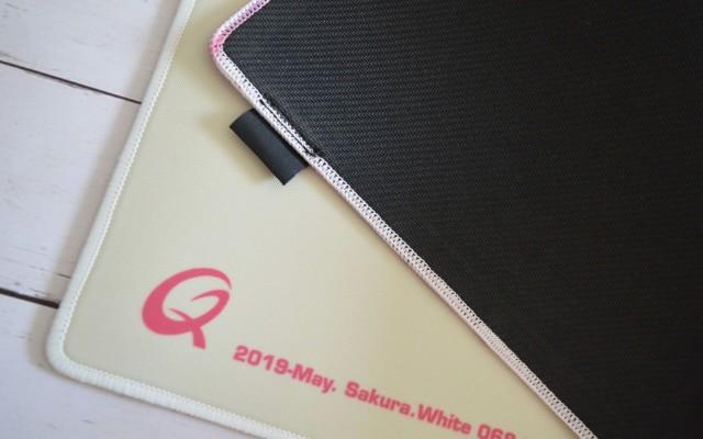 酷倍达QPAD CD-36 限量版樱花白开箱晒物