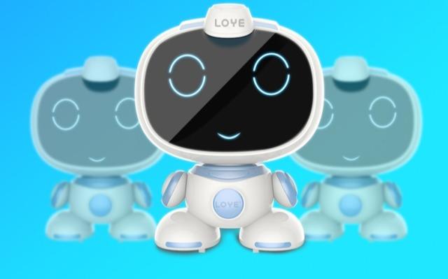 乐源小乐智能教育机器人